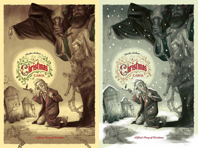 A Christmas Carol - Regular & Variant Matching Number Set
