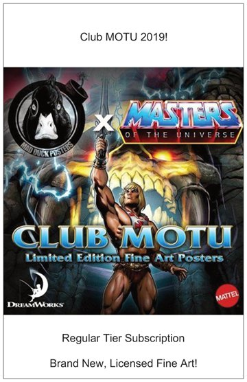 Club MOTU 2019 - Regular Tier! - Mad Duck Posters