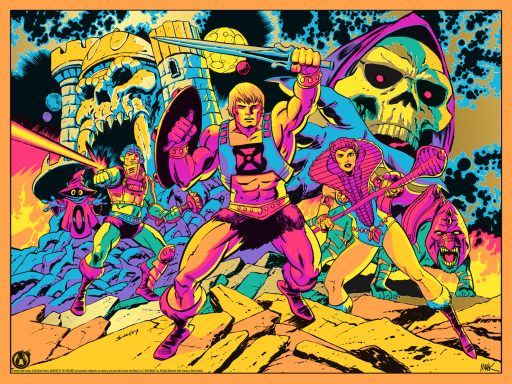 Third Eye Of Eternia - Gold Foil Variant - Mad Duck Posters