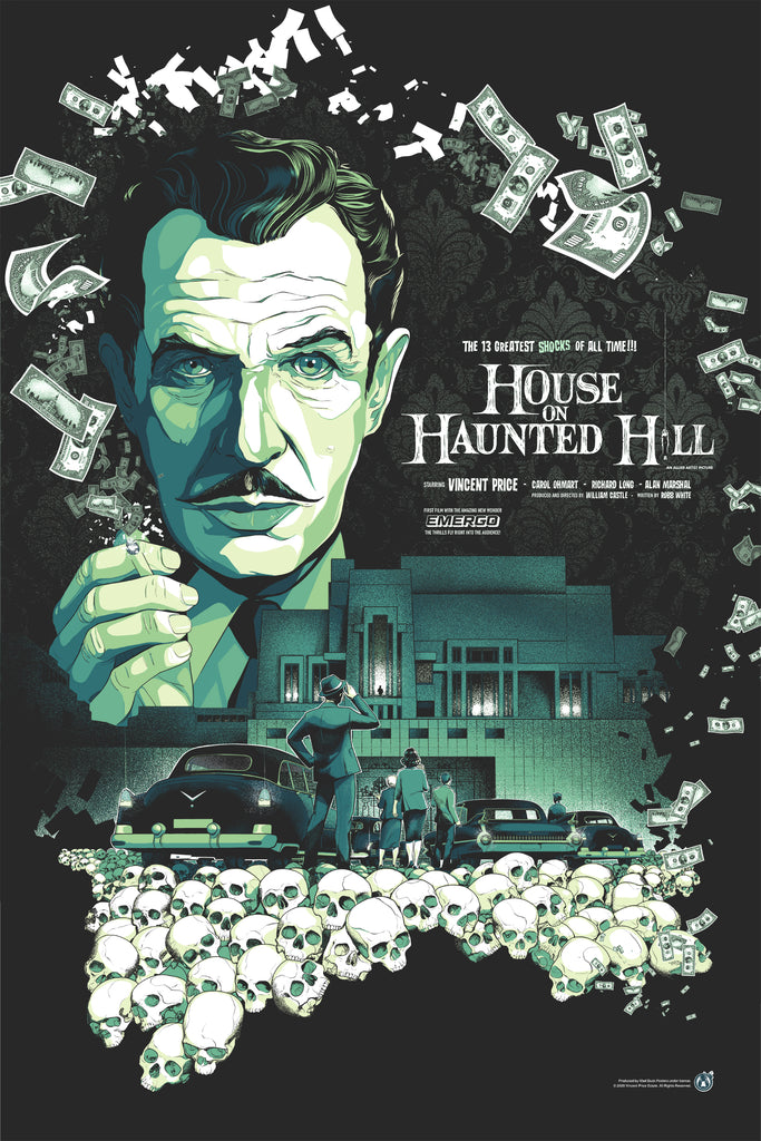 House On Haunted Hill - Variant - Mad Duck Posters