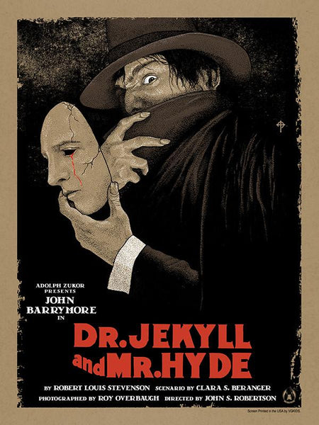 Dr. Jekyll and Mr. Hyde - Variant - Mad Duck Posters