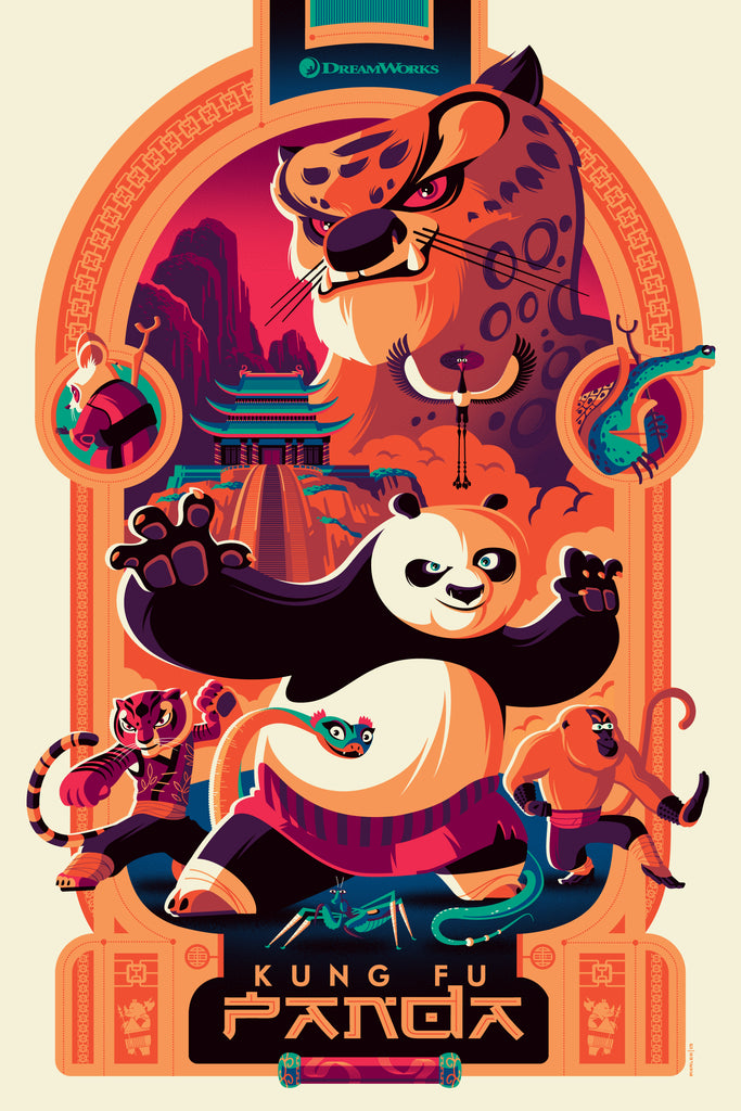 Kung Fu Panda - Variant - Mad Duck Posters