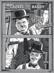 "Laurel & Hardy ""Busy Bodies"" - Regular Edition"