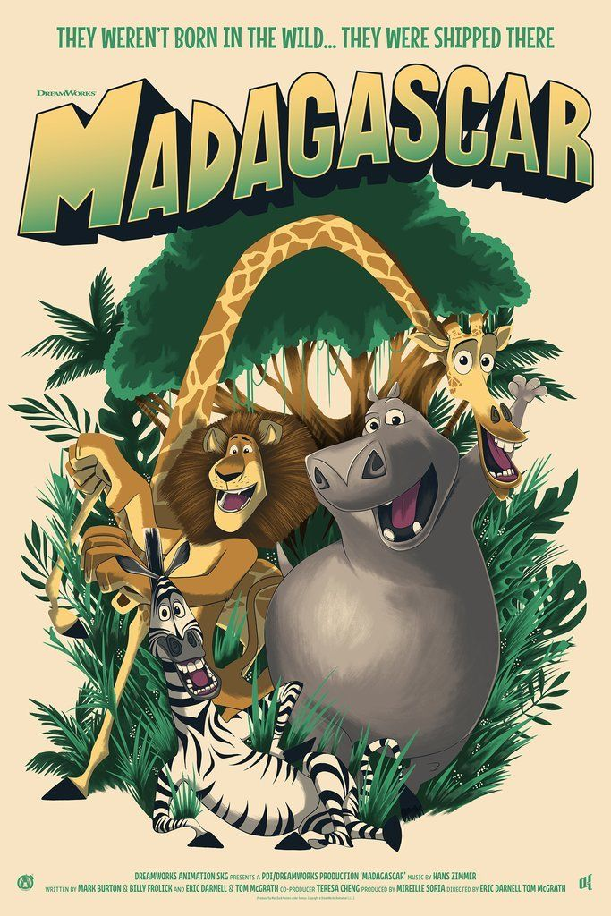 Madagascar - Mad Duck Posters