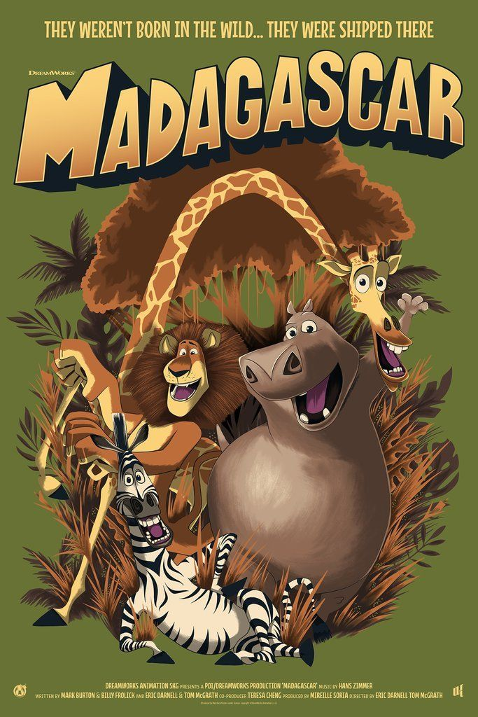 Madagascar - Variant - Mad Duck Posters