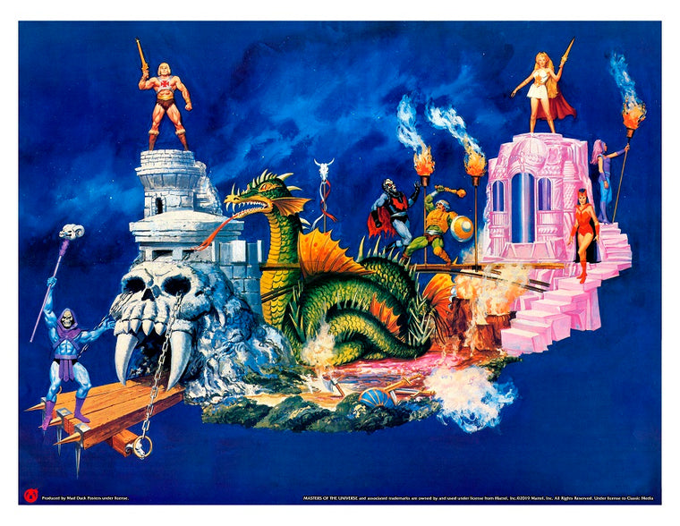 MOTU Macy's Thanksgiving Day Parade Concept Art