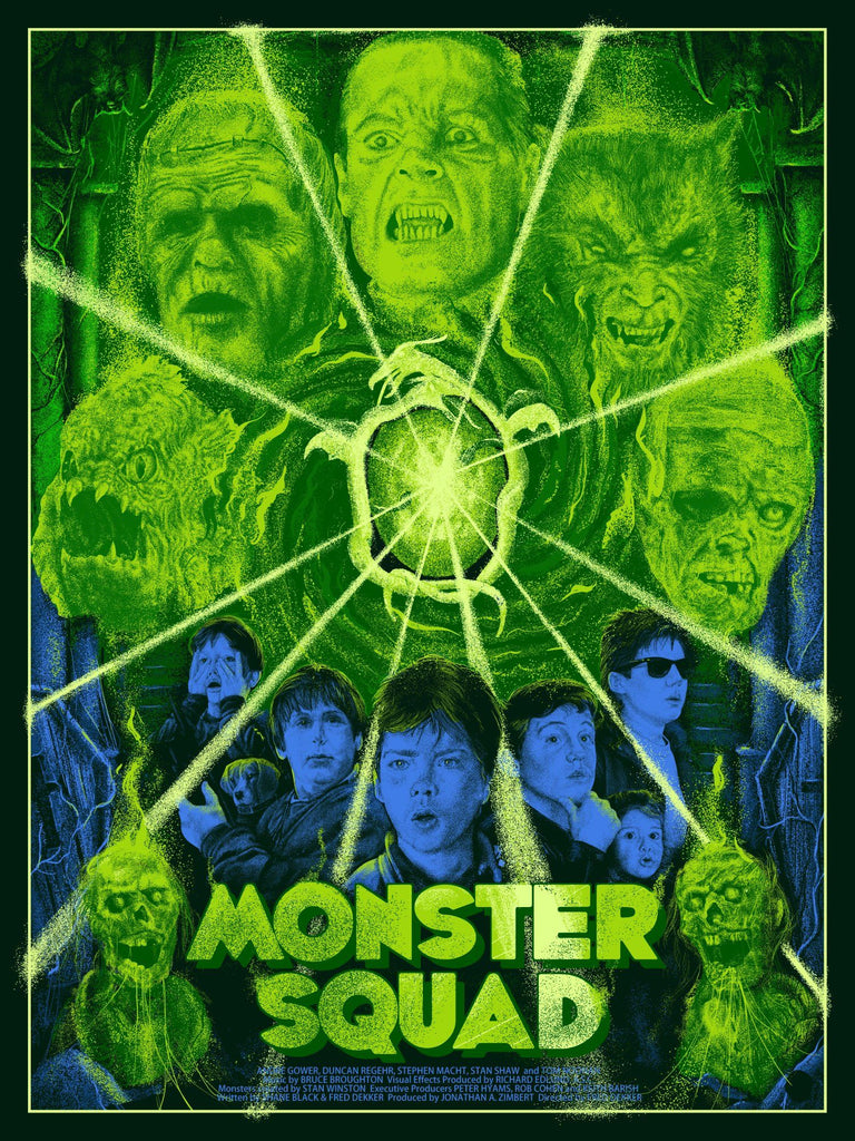 Monster Squad - Foil Variant - Mad Duck Posters