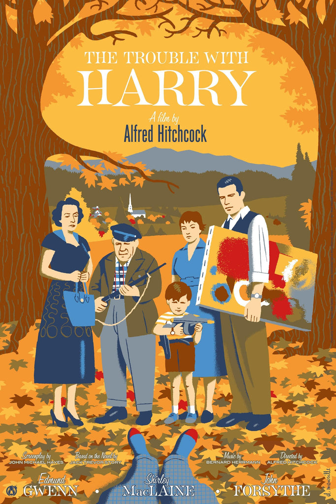 The Trouble With Harry - Mad Duck Posters