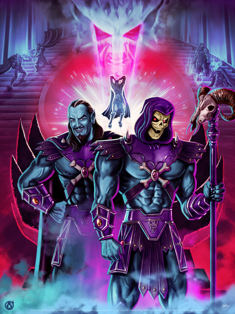 The Birth Of Skeletor - Regular - Mad Duck Posters