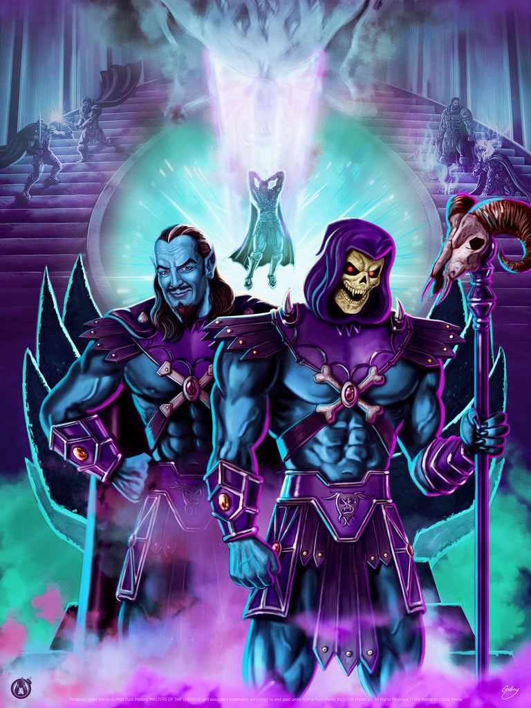 The Birth Of Skeletor - Variant - Mad Duck Posters