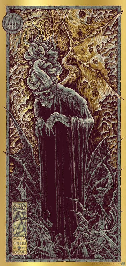 The Call Of Cthulhu - Gold Foil Variant - Mad Duck Posters