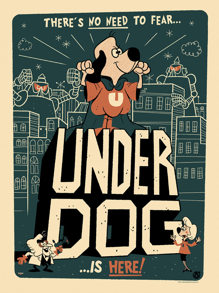 Underdog - Regular & Variant Set - Mad Duck Posters