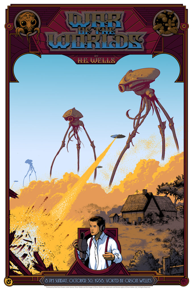The War Of The Worlds - Regular - Mad Duck Posters