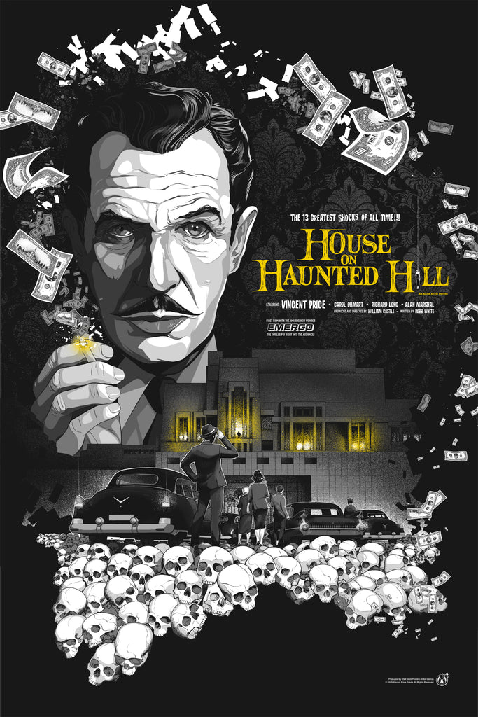 House On Haunted Hill - Regular - Mad Duck Posters