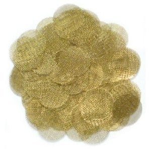 .812 Brass Plumbing Filters 1000pc bag