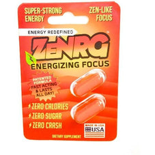 ZeNRG Caps 2pk - energy capsules - zenergy pills - sugar free long lasting energy - Adarol Energy - Adderall Energy - Over the counter Adderall - Energy pills that work like Adderall - Closest over the counter drug to Adderall - Alternatives to Adderall for adults