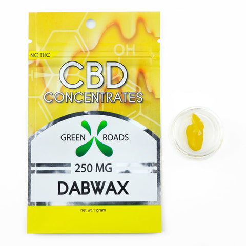 Green Roads 250MG CBD Dab Wax Concentrate