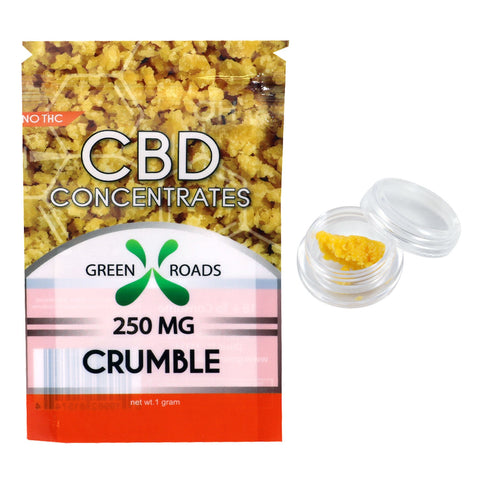 Green Roads 250MG CBD Dab Crumble Concentrate