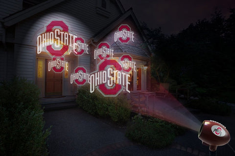 Ohio State Buckeyes Light Projector Example