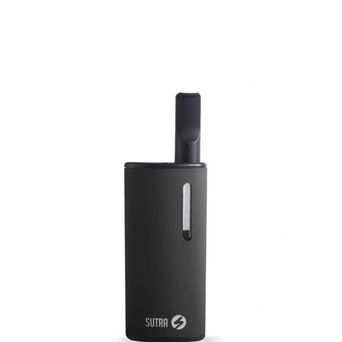 Sutra Selfie Cartridge Vaporizer by Sutra Vape in black. Stealth, small, oil vaporizer.