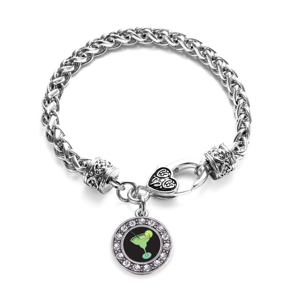 Margarita Lovers Circle Charm Braided Bracelet