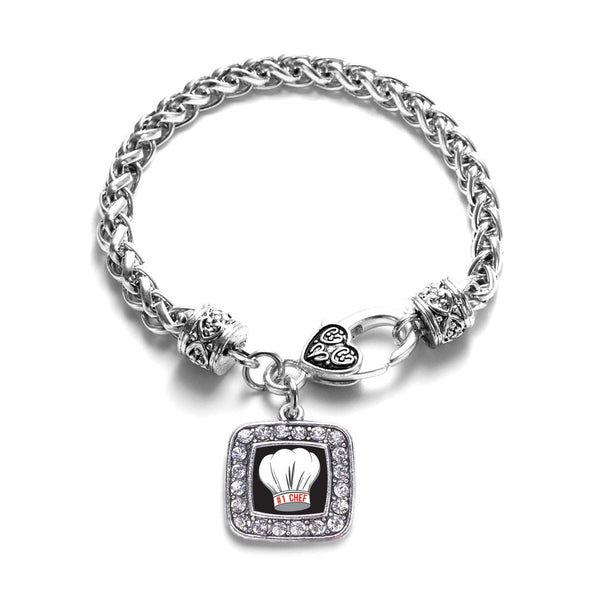#1 Chef Braided Charm Bracelet