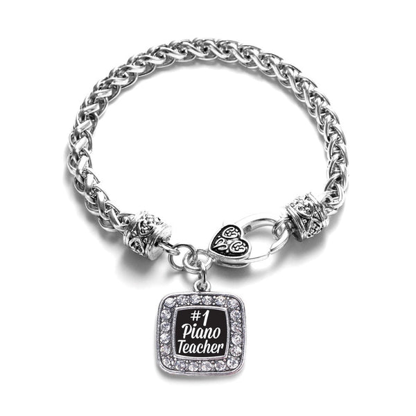 #1 Piano Teacher Classic Braided Bracelet
