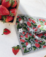 Load image into Gallery viewer, Strawberry Sponge Cloth