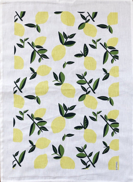 Tea Towel Citrus (Vintage Lemon)