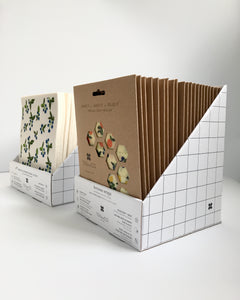 Cardboard Display Box for Beeswax Wraps
