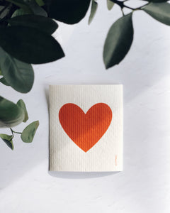 Big Love Red Sponge Cloth