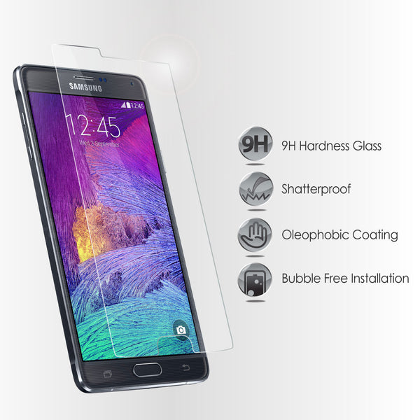 Galaxy Note 4 Tempered Glass Light