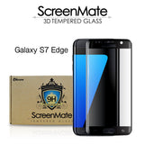 Samsung Galaxy S7 edge ScreenMate 3D Max Full Cover Tempered Glass - Black