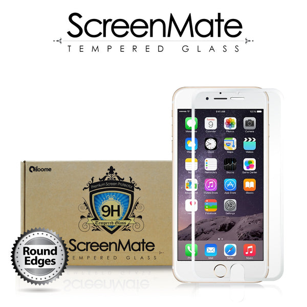 iPhone 6/6s Arctic White Tempered Glass