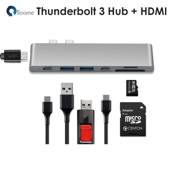 "Thunderbolt 3 All-in-One Hub for 2016/2017 MacBook Pro 13"" and 15"""