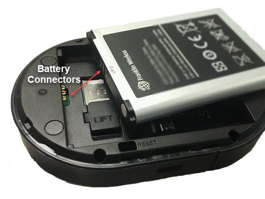 Franklin Wireless MHS900L Rechargeable Li-ion Battery 2100 mAh