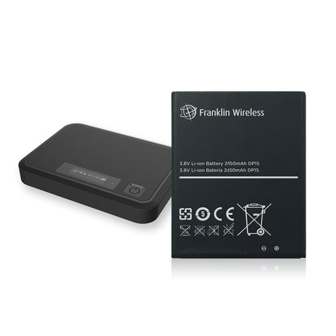 Franklin Wireless R850 Rechargeable Li-ion Battery 2450mAh
