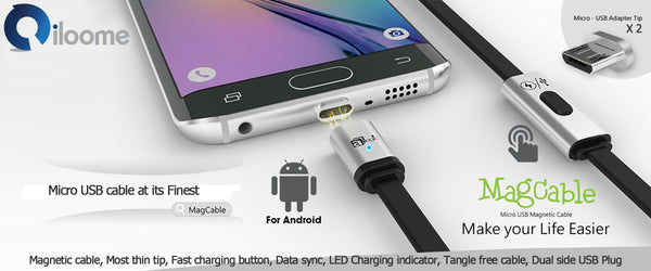 iloome - Magnetic Micro USB Cable