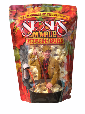 Maple Kettle Corn - 6 oz. (2 or 4 Bags)