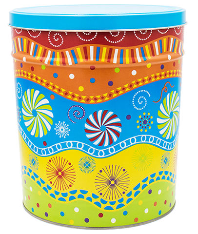 Kettle Corn Tin Panache 3.5 Gallon