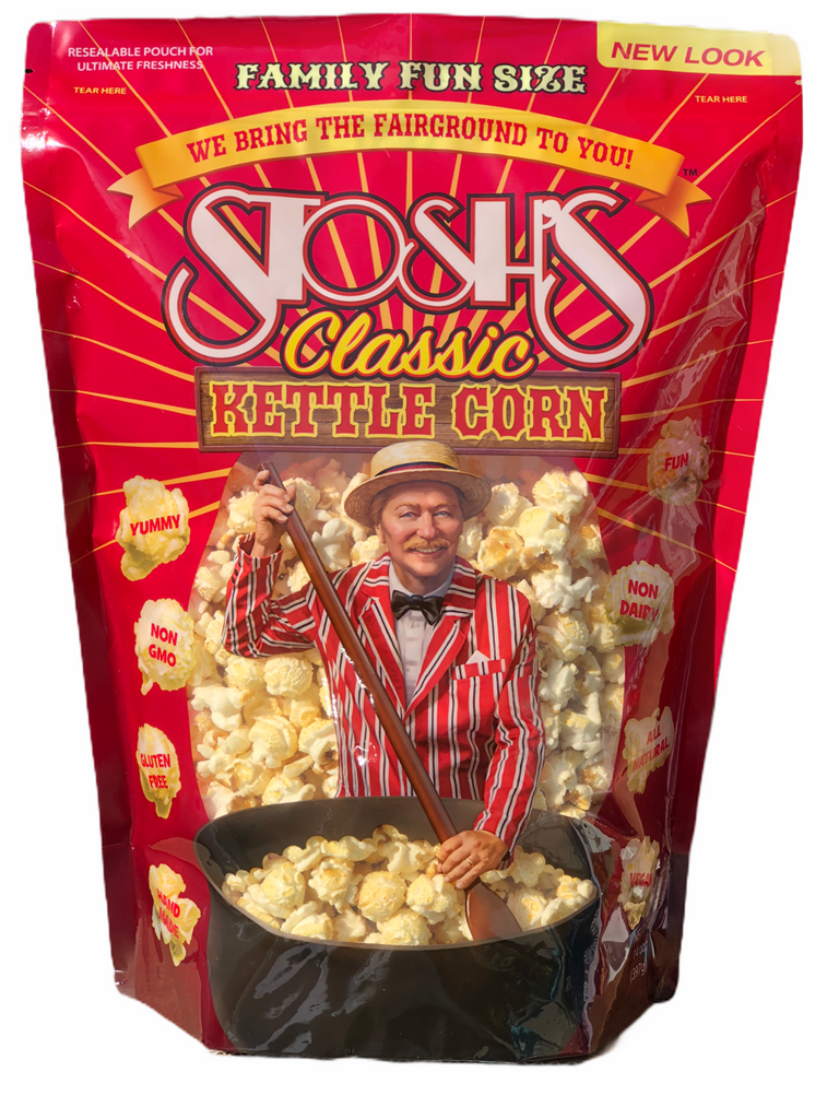 Stosh's Kettle Corn Bag Family Size 14 oz. (3 or 6 Bags)