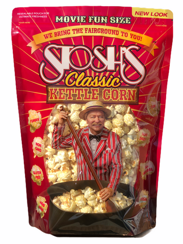 Stosh's Kettle Corn Bag Movie Size 8 oz. (3 or 6 Bags)
