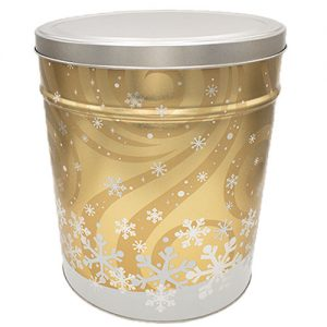 Swirling Snow Gift Tin - See drop down for Flavors
