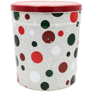 Jolly Dots Gift Tin - 3 1/2 Gallon - See drop down for Flavors.