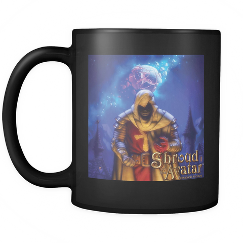 Shroud of the Avatar ™ Black Mug