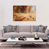 Desert Dragons Rectangular Print Example Photo