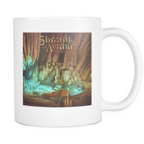 Crystal Cavern White Mug