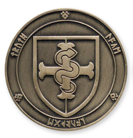 LB -vs- DarkStarr Challenge Coin