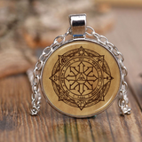 Magic Sigil Parchment Necklace