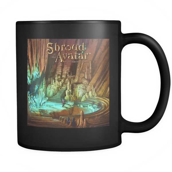 Crystal Cavern Black Mug